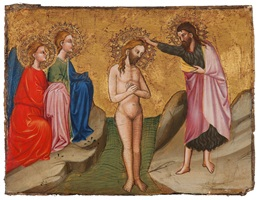 the baptism of christ by cecco di pietro