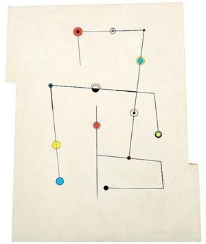 lignes et points by carmelo arden-quin