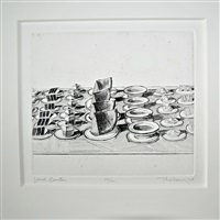 lunch counter (sold) by wayne thiebaud