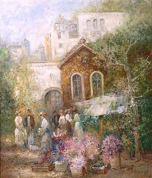 flower market by willi bauer