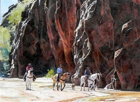 canyon cowboys by tom dorr