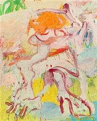 woman (arthur's woman) by willem de kooning