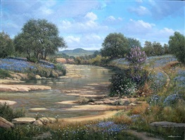 spring on the llano by george kovach