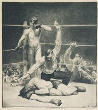 counted out, 1st stone (m. 94) by george wesley bellows