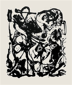 untitled after cr333 by jackson pollock