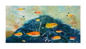 amber birds and indigo mountain by valentina dubasky