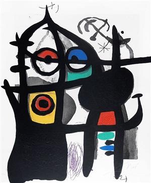la captive (the captive) by joan miró