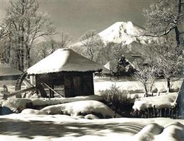 fujiyama winter by koyo okada