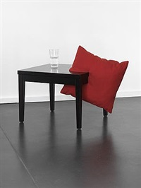 possible coincidence (pillow/table) by beth campbell