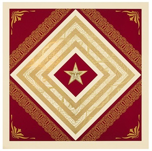 power and glory iv by shepard fairey