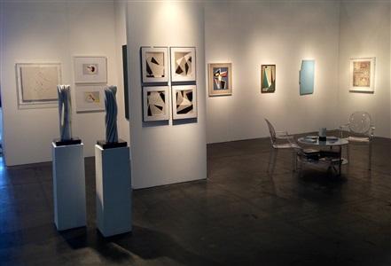 houston fine art fair installation view