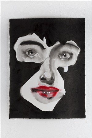 face cut, from the series mystery by adriana molder