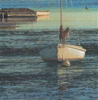 off the dock (sold) by del-bourree bach