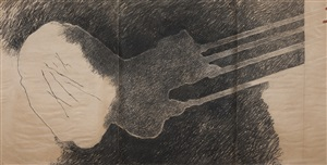 pre-medeic drawing by geta bratescu
