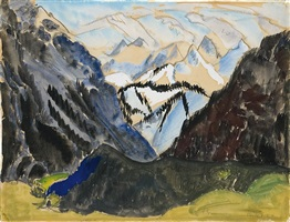 gebirge by erich heckel