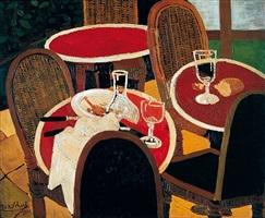 verlassenes café by josef scharl