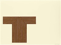 copper series - telluride by frank stella
