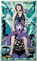 paradise in turquoise by faile
