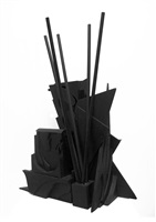 u.j.a. federation sculpture edition c by louise nevelson