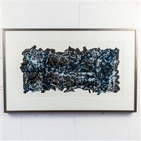 la haie by jean paul riopelle