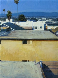 rooftops, southern california by ben aronson