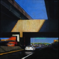 divided highway, closed ramp series by ben aronson