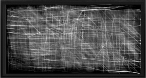 after duchamp's 16 miles of string by idris khan