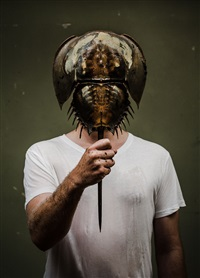 self portrait / living fossil by christian andersson