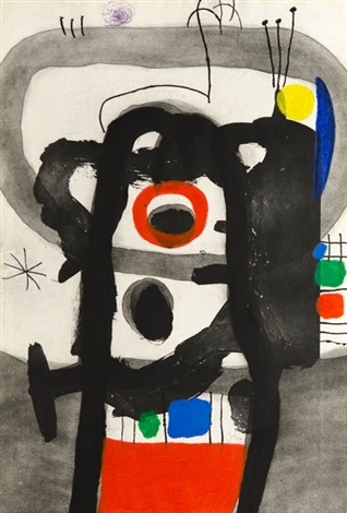 l'enragé (the angry one) by joan miró