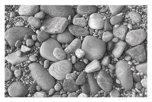beachstones #5 by skip steinworth