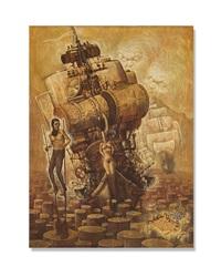 la barca y la dama by victor huerta batista