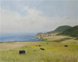 """big sur cows"" by marc dalessio"