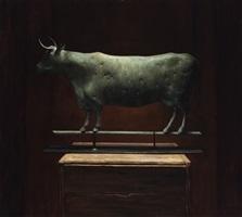 antique cow weathervan by sarah k. lamb