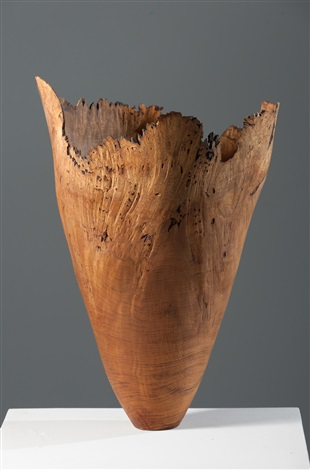 burr oak vessel 3 by anthony bryant