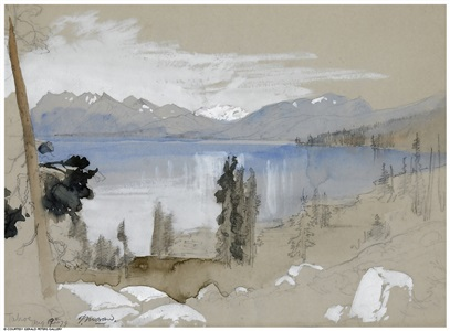 lake tahoe by thomas moran