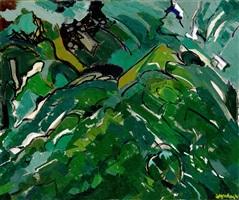le fond du jardin by maurice wyckaert