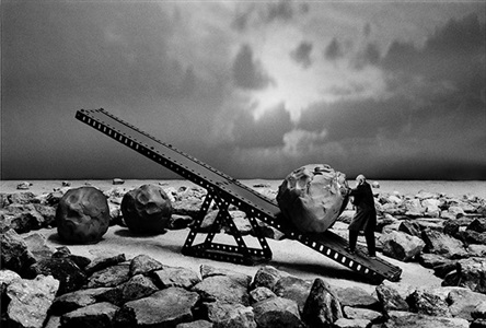 latelier de sysiphe by gilbert garcin
