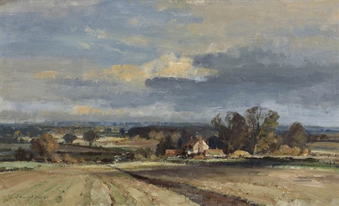 the furrow by edward seago