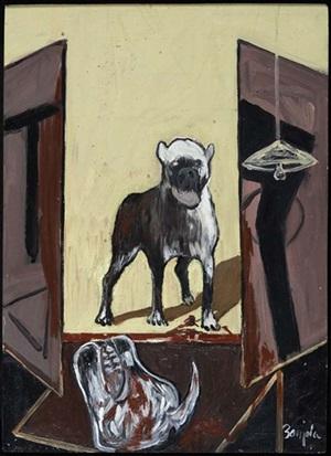 perro by juan barjola