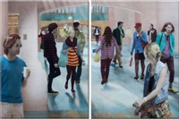 lives of similar differences (diptych) by sherry karver