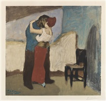 l'étreinte (the embrace) by pablo picasso