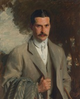 portrait of john ridgeley carter by john singer sargent