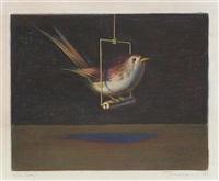 bird & swing by wayne thiebaud