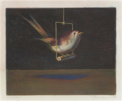 bird & swing by wayne thiebaud