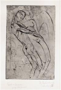 paolo und francesca by wilhelm lehmbruck