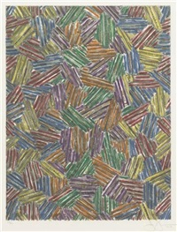 cicada ii by jasper johns