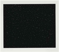 comet by vija celmins