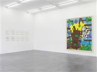 exhibition view by carroll dunham