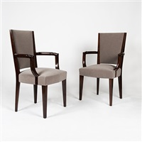 série de quatre chaises by eugene printz