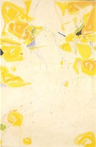 untitled (sf59-351) by sam francis